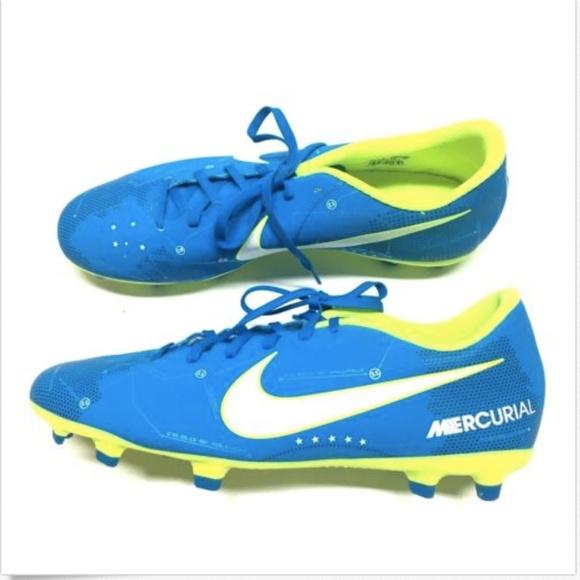 f30af506aa7 Nike Mercurial Vortex III NJR FG Soccer Cleats. M 5b7b1c15aaa5b86ae28aa238
